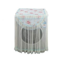 Princess Style Mo Flowers Pattern Drum Washing Cloth Dust Cover